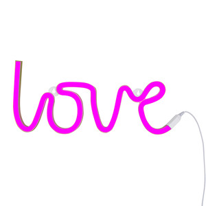 neon love pink A Little Lovely CO